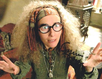 Emma Thompson Autograph Signed Photo - Sybill Trelawney